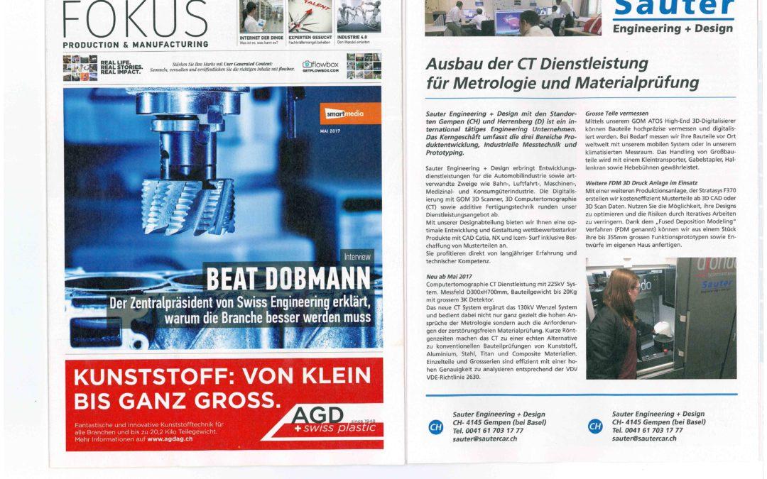 Special Report Bilanz Newspaper 06 2017